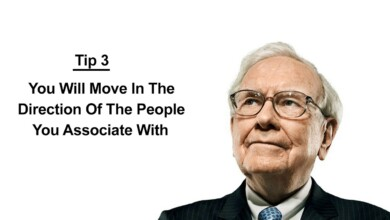 Photo of Warren Buffett's Top 3 Life Advice Tips – Surround Yourself With Positive People