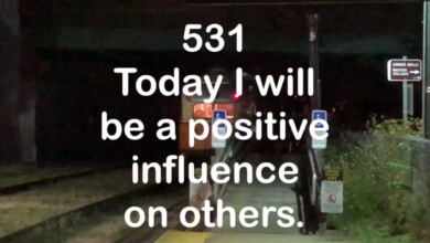 Photo of #531 Today I will be a positive influence