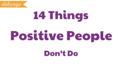 Photo of 14 Things Positive People Never Do