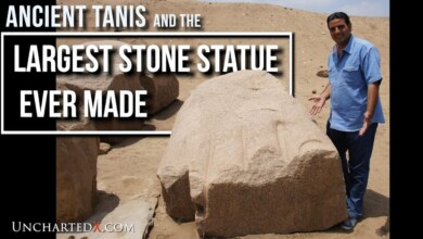 Photo of Ancient Tanis, Ramses II, and the Largest Stone Statue Ever Made..