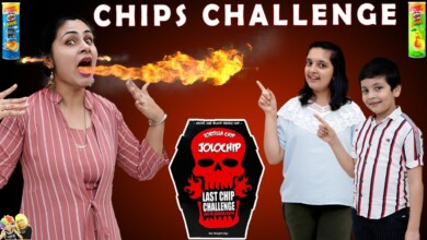 Photo of CHIPS CHALLENGE | Jolo Chips Spicy Eating Challenge | Aayu and Pihu Show