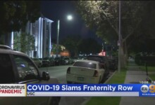 Photo of Coronavirus Outbreak Reported At USC's Fraternity Row After 44 People Test Positive