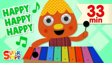 Photo of My Happy Song | + More Kids Songs | Super Simple Songs