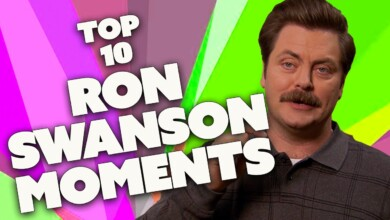 Photo of The 10 Greatest RON SWANSON Moments | Parks and Recreation | Comedy Bites