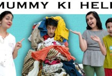 Photo of MUMMY KI HELP ?? Family Comedy Movie | Funny type of father | Aayu and Pihu Show